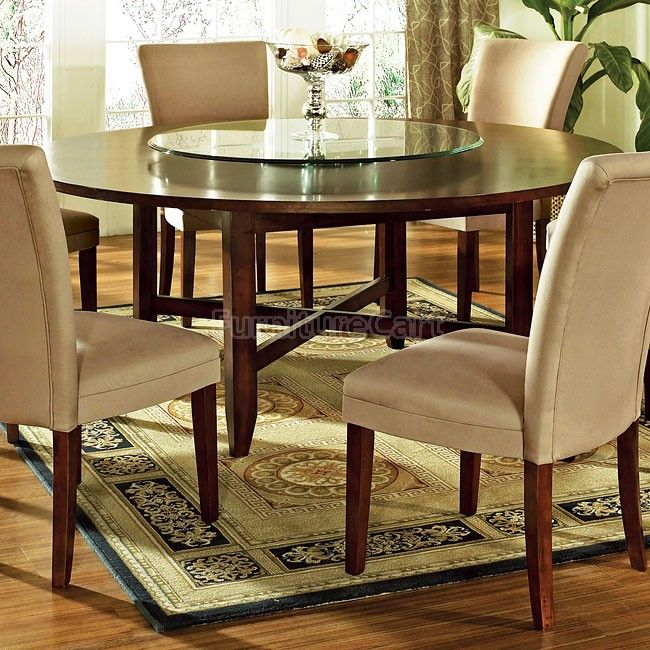 Avenue 72 Inch Round Dining Table Round Dining Room Sets Round