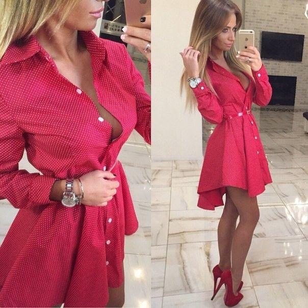 Encontrar Más Vestidos Información acerca de 2015 otoño nueva moda
