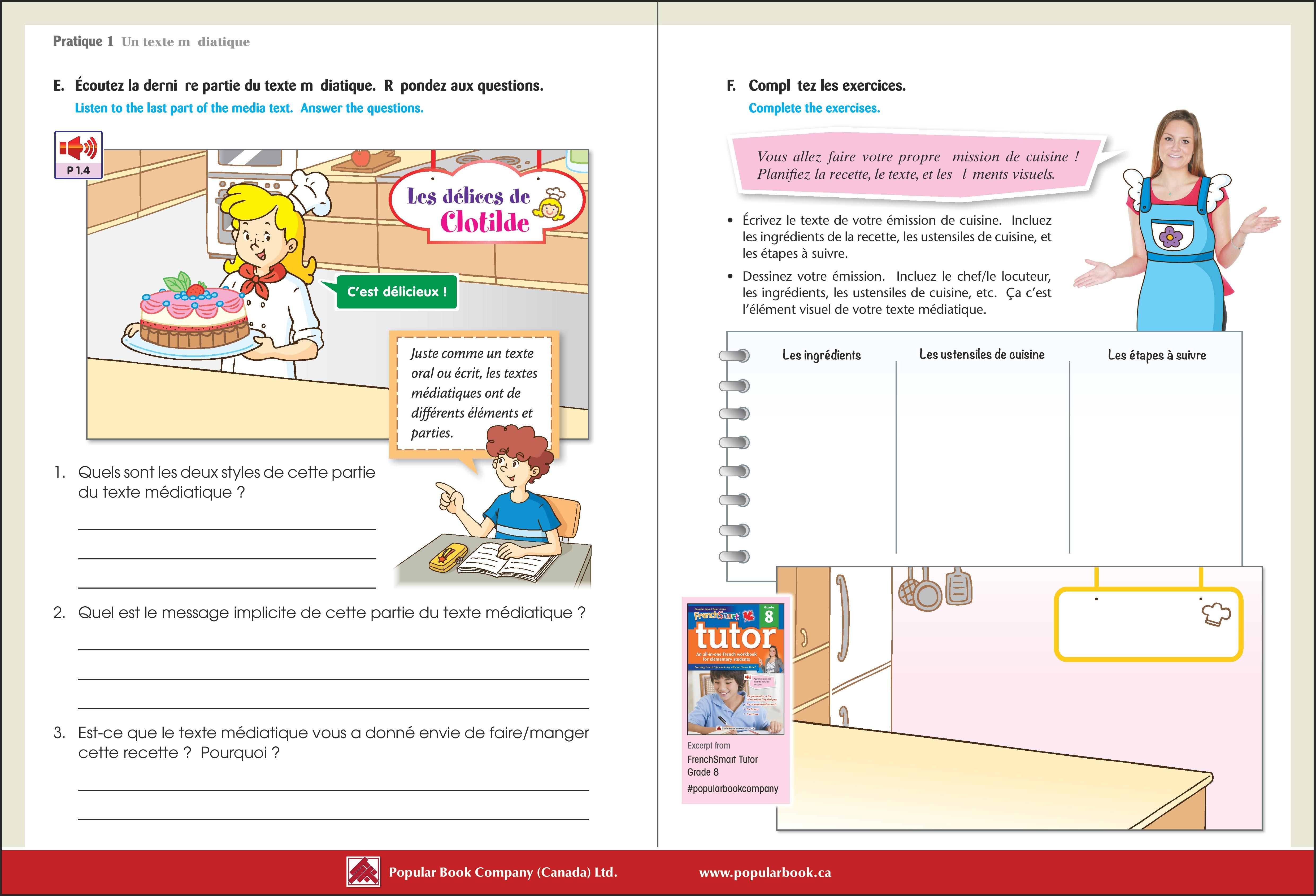 Download The Free Sample Pages From Frenchsmart Tutor