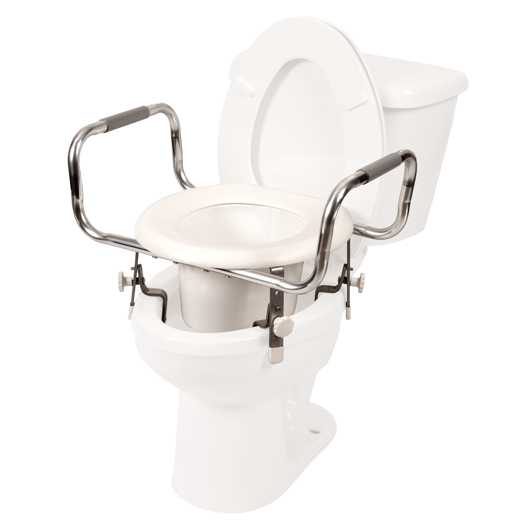 Excellent Adjustable Raised Toilet Seat W Arms Debbie In 2019 Uwap Interior Chair Design Uwaporg