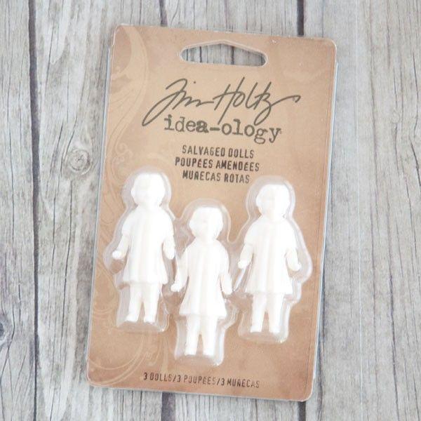 Advantus Idea-ology Tim Holtz Salvaged Dolls