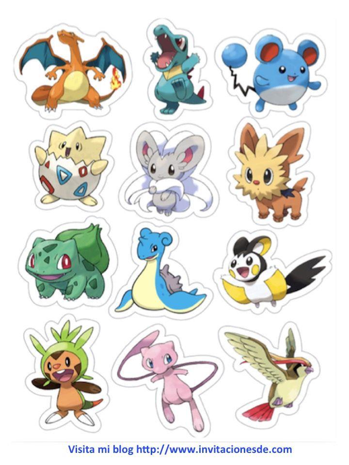 Pin de LeS\'s SC en Pokemon | Pinterest | 인쇄 가능, 포켓몬 y 생일파티