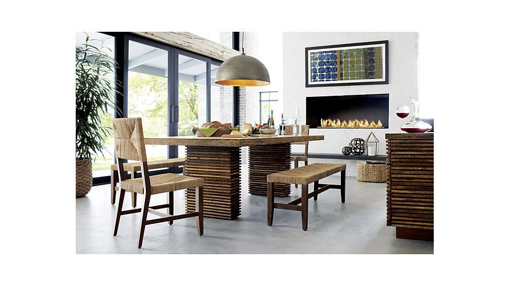 Paloma Ii Reclaimed Wood Dining Table  Woods Crates And Barrels Impressive Barrel Dining Room Chairs Design Inspiration