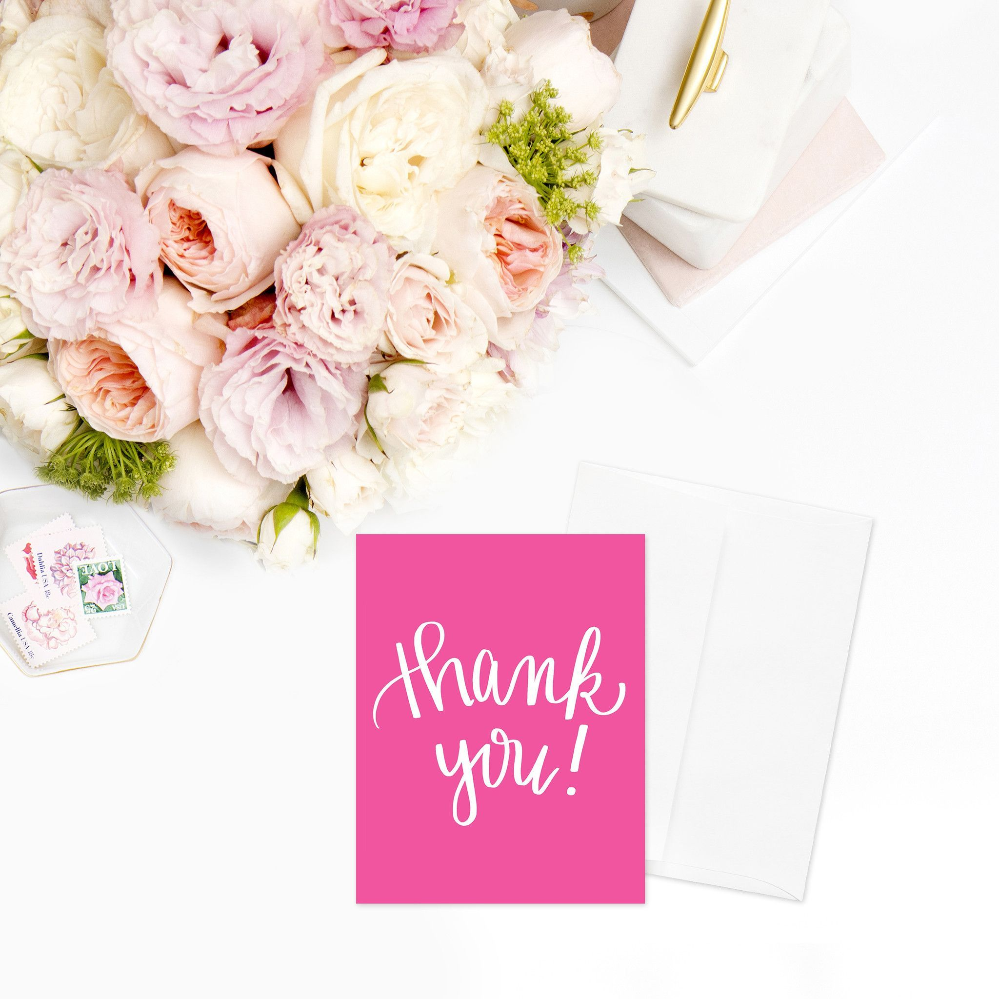 Thank You A2 Greeting Card Pinterest Products