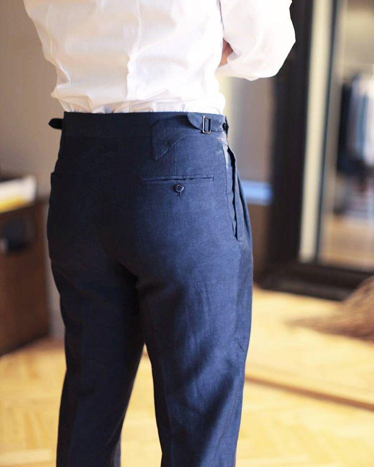 The Sartorial Way • modernartillery:   Our TSO house trouser design,...