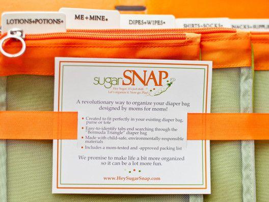 Diaper bag organizer - genius!