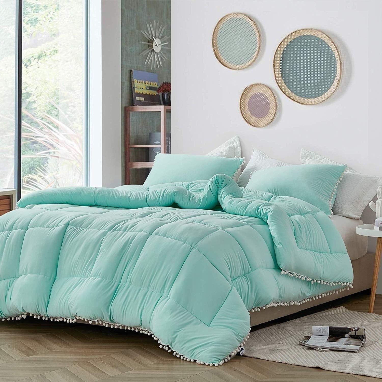 Bare Bottom Lightly Oversized Comforter Aruba (Full