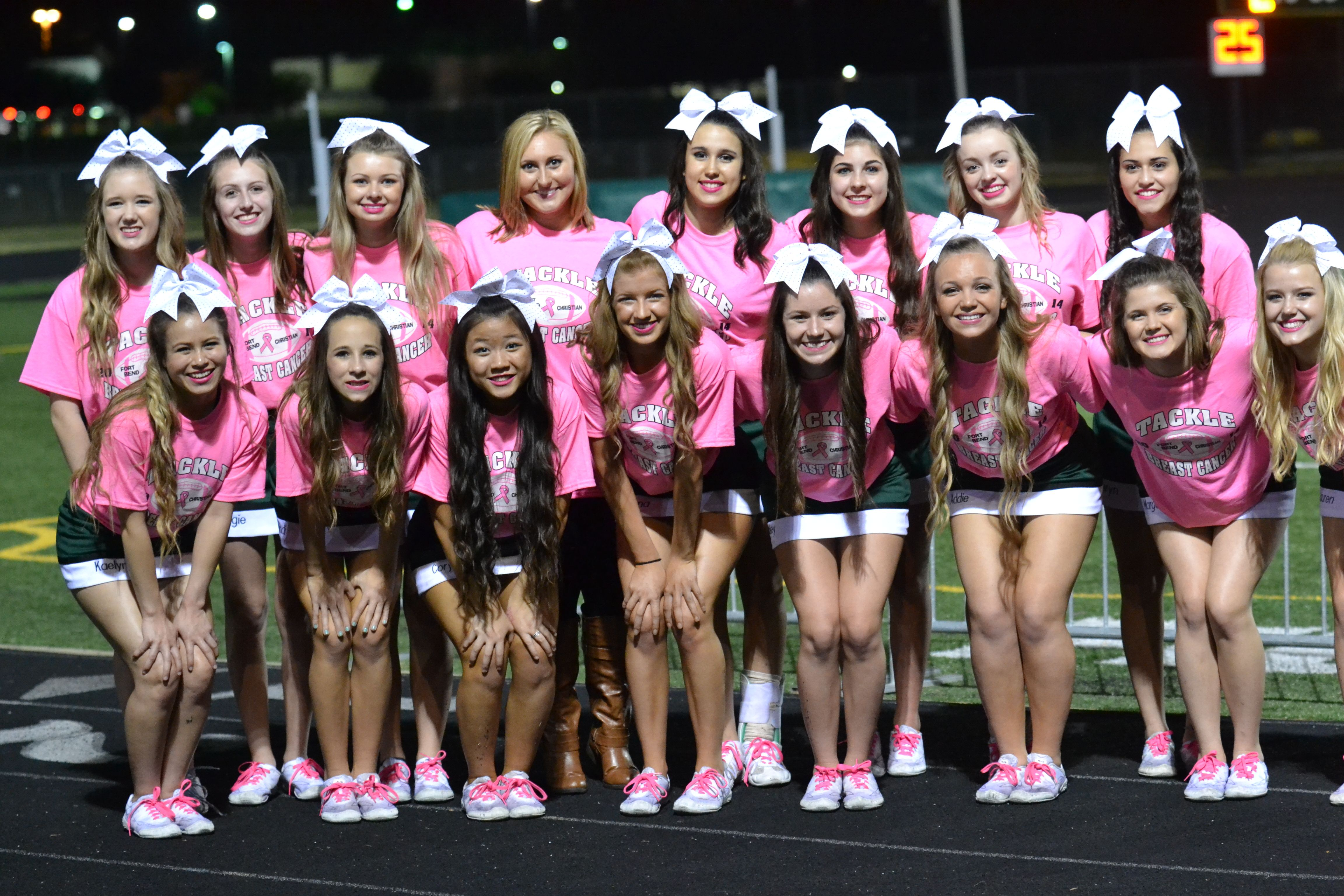 Pin By Madypearl On Cheer For A Cure In 2020 Pink Out School Spirit Outfit Football