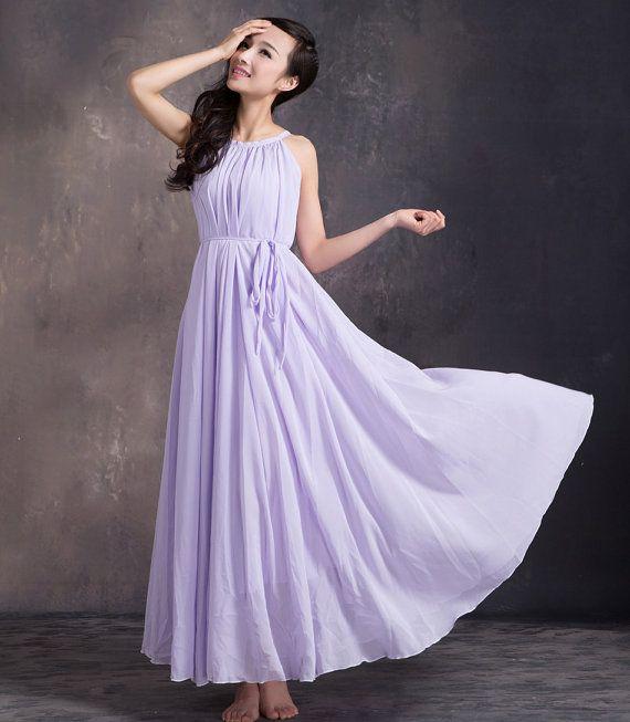 Lavender Summer Dresses