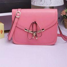 Wholesale Women Candy Color Messenger Crossbody Bag