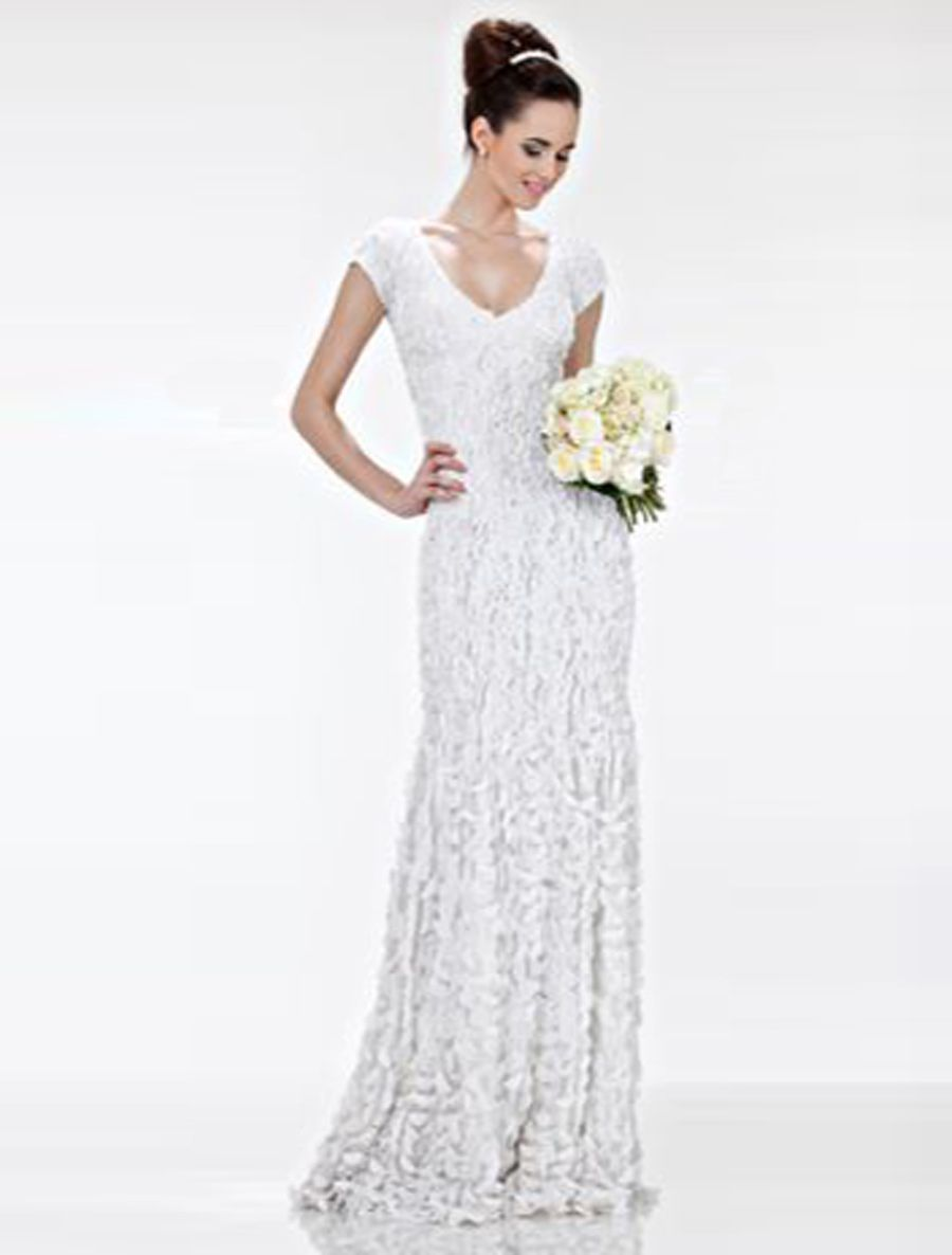 Theia Danielle 881131 Discount Designer Wedding Dress | Discount ...