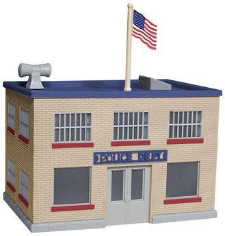 Police Station Police Station Paper City Police