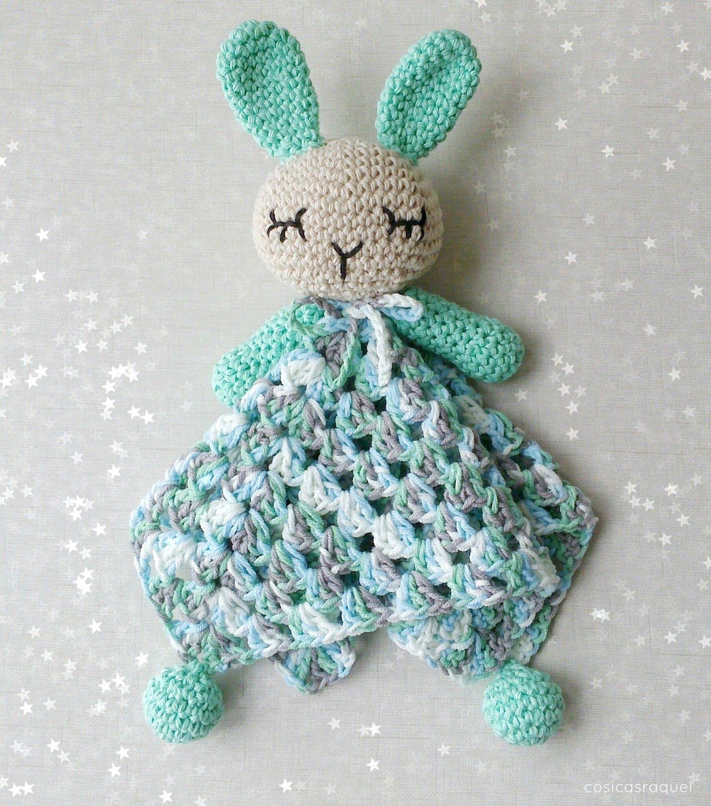 Manta de Apego Crochet | Crochet patrones, Patrón gratis y Conejo