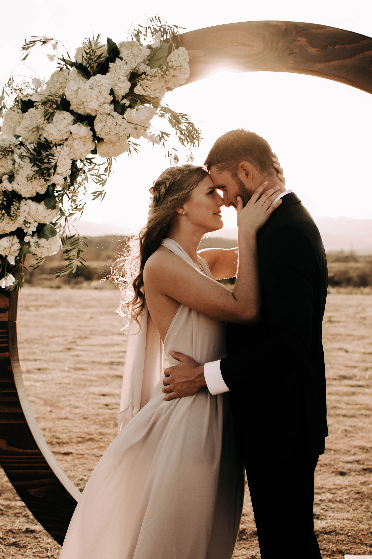 California elopement wedding photographer warm and moody