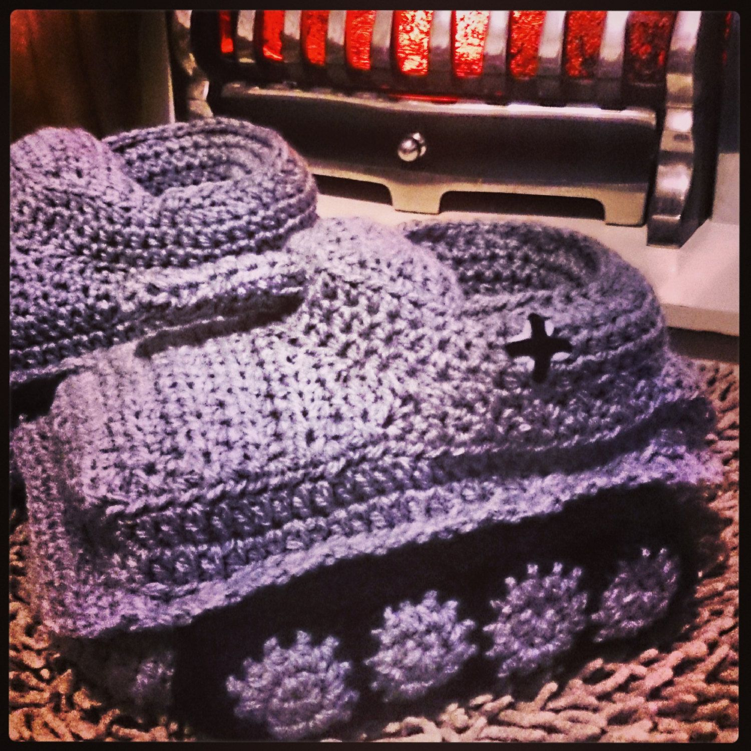 Panzer Army Tank Slippers Any Size Crocheted by Madhatterhatshop ...