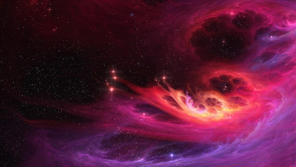 Fond D Ecran Rose Dans L Espace Nebula Wallpaper Nebula Abstract