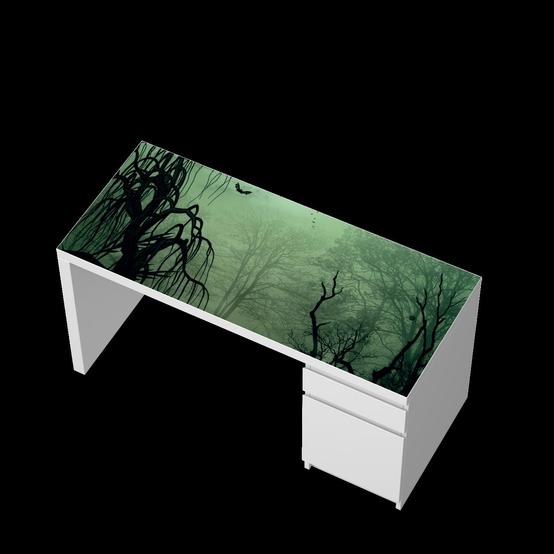 Tischplatte ikea  Möbelfolie Witchcraft für Malm Schreibtisch Tischplatte | Ikea ...