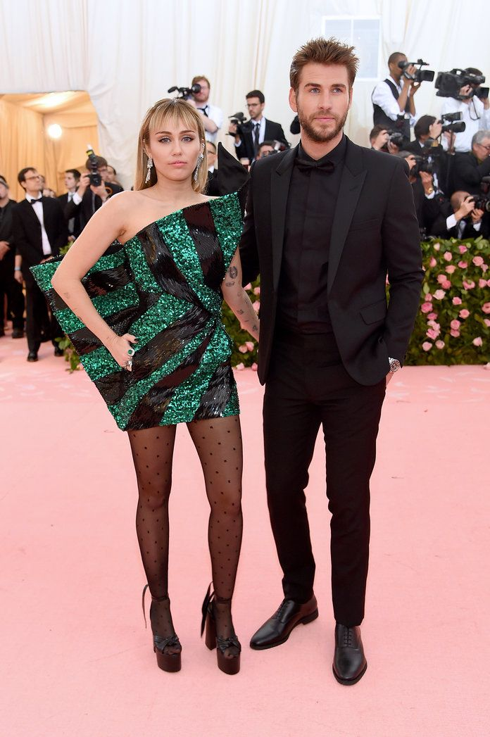 Miley Cyrus and Liam Hemsworth Make a Tenuously OnTheme