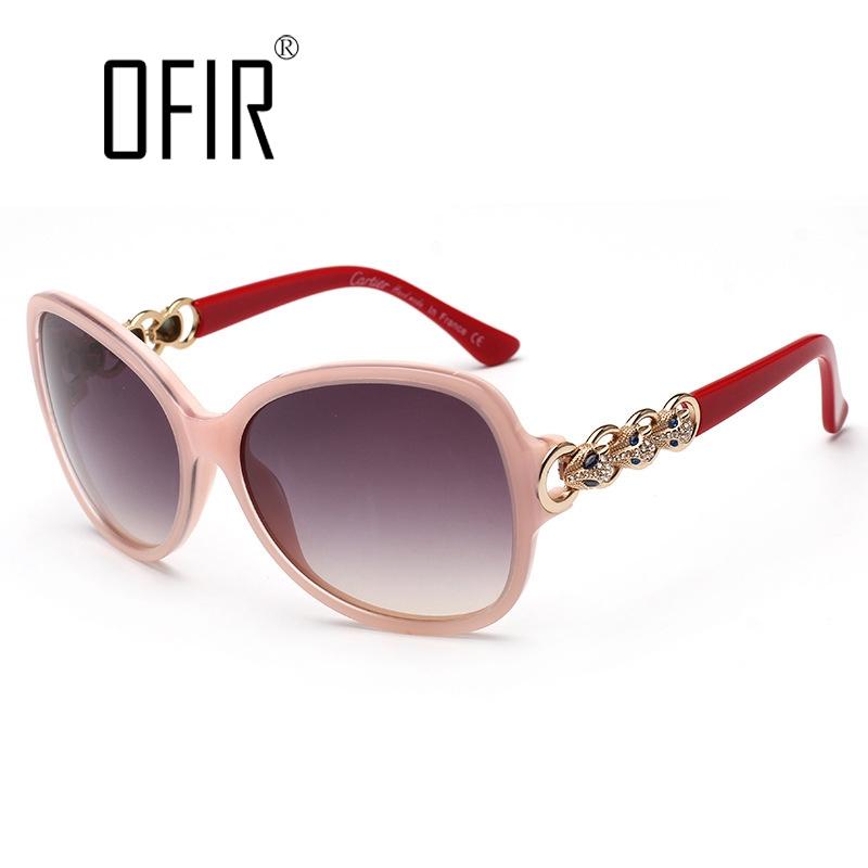 28.78$  Watch here  - OFIR Brand Luxury Sunglasses Women Design Fox Sheet Metal Frame Sun Glasses UV400 Vintage Eyewear Oculos de sol dos homens GD-9