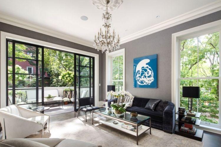 Neoklassisches Interior Design eines Penthouses in New York City - inneneinrichtung