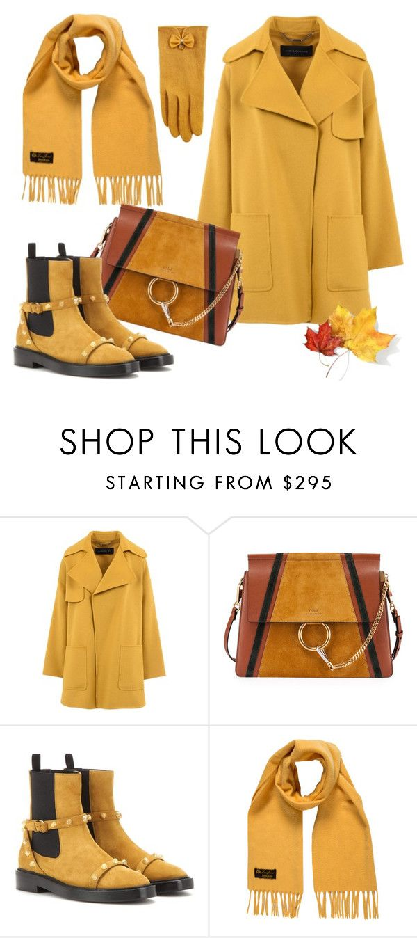 """Untitled #4403"" by julinka111 ❤ liked on Polyvore featuring Barbara Bui, Chloé, Balenciaga, Loro Piana and Accessorize"
