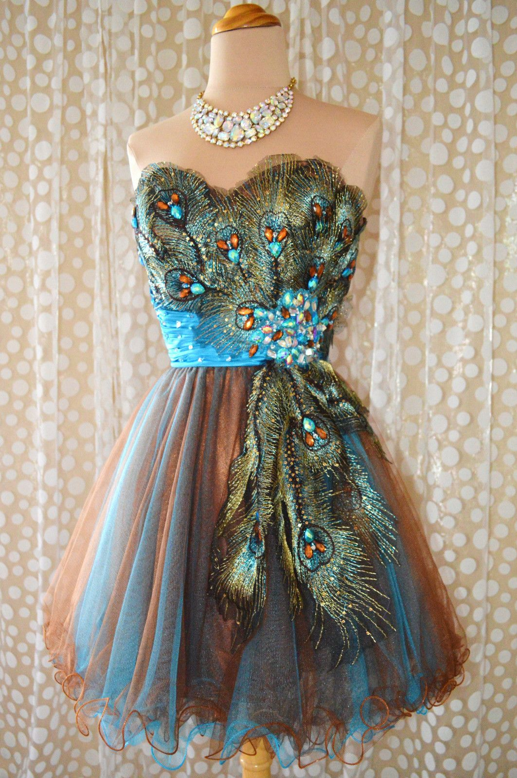 Short blue aqua prom dresses turquoise peacock prom cocktail
