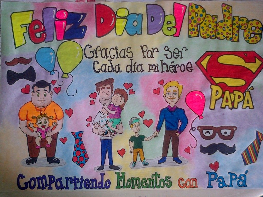 #diadelpadre #pancartas #happyfathersday #papa #hijo ...
