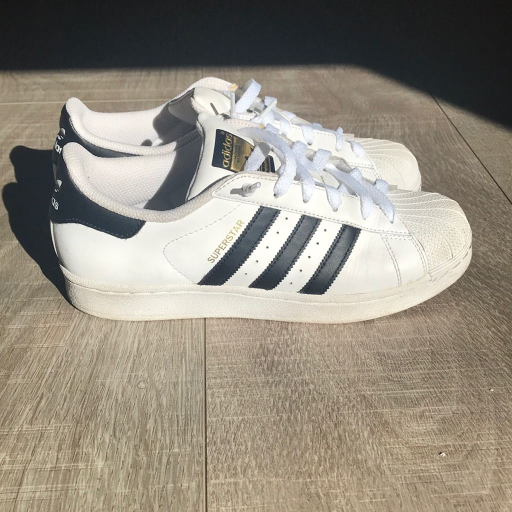 adidas Shoes | Adidas Youth Superstars Size 7 | Color: Black