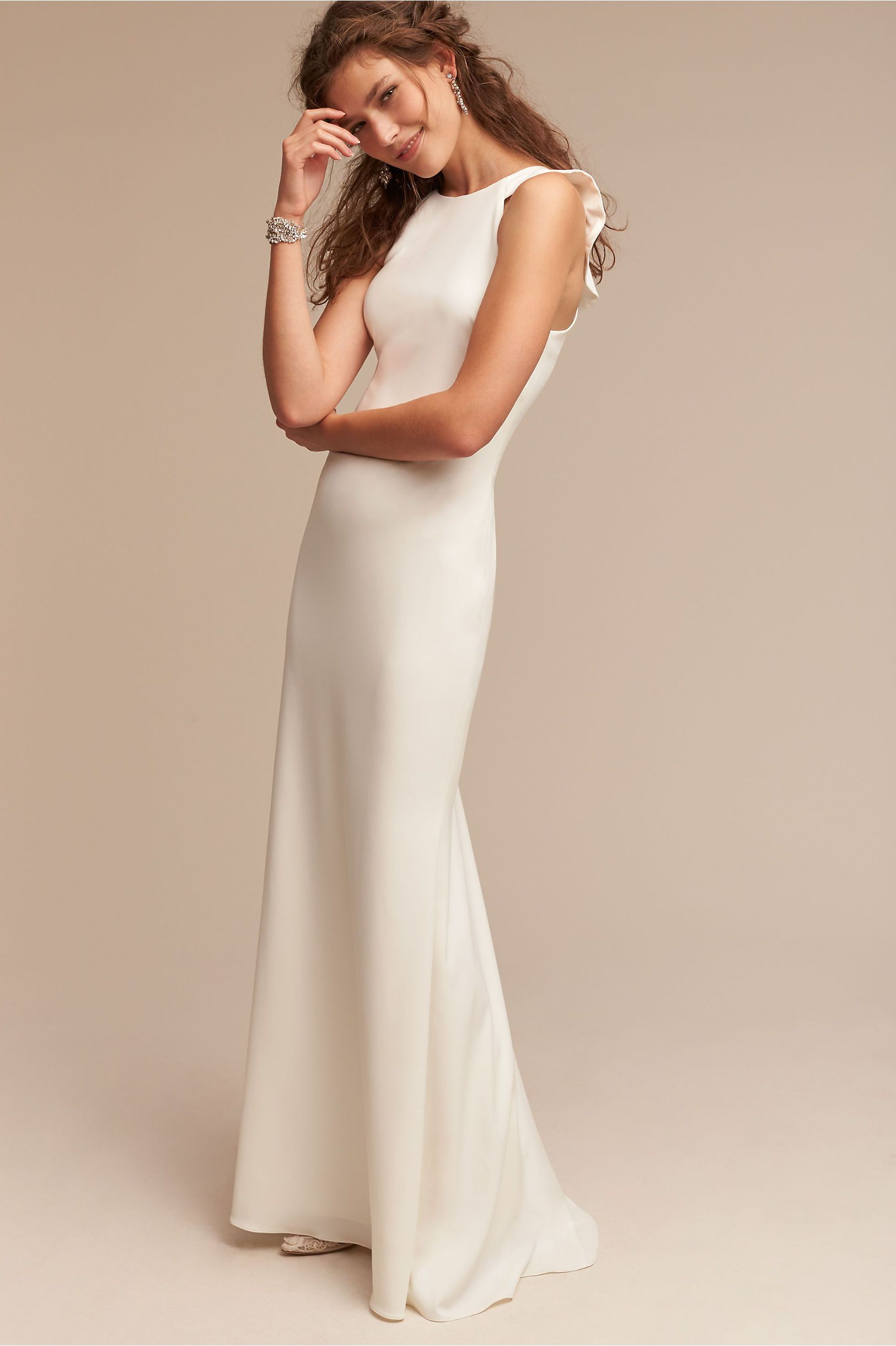 BHLDN Ivory Heather Gown in Sale | BHLDN | Happily Ever After ...