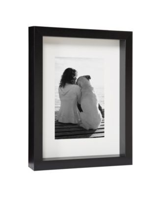 Designovation Macintyre Wood Photo Frame Set Of 4 Black With Images Picture On Wood Wood Picture Frames