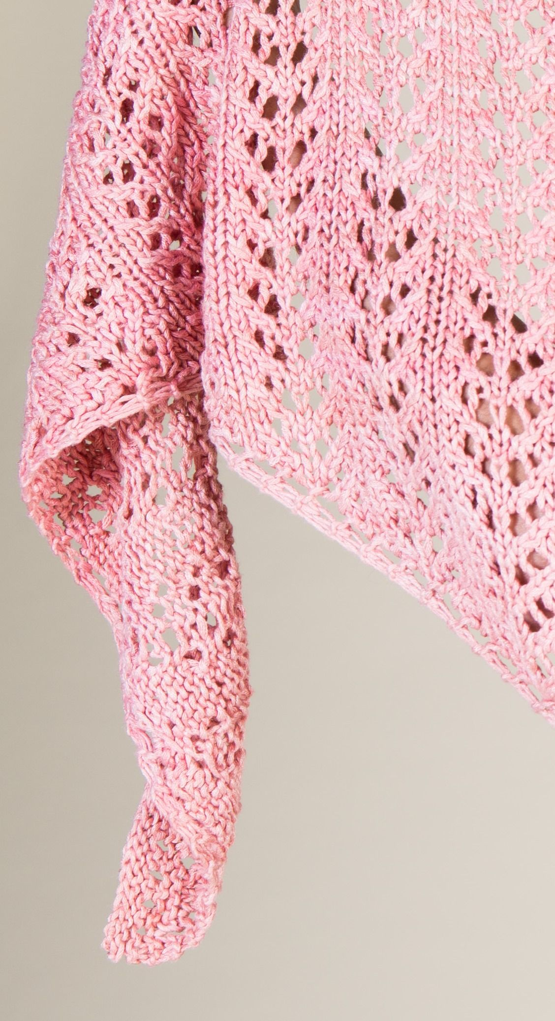 An Easy Lace Knitting Pattern: The Sausalito Shawl | Lace knitting ...