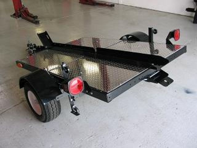 Forward Folding Camper Trailer >> Folding Trailer One Rail with aluminum board … | Pinteres…