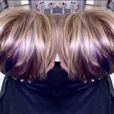 Blonde Hair With Brown Highlights And Purple K A Boos