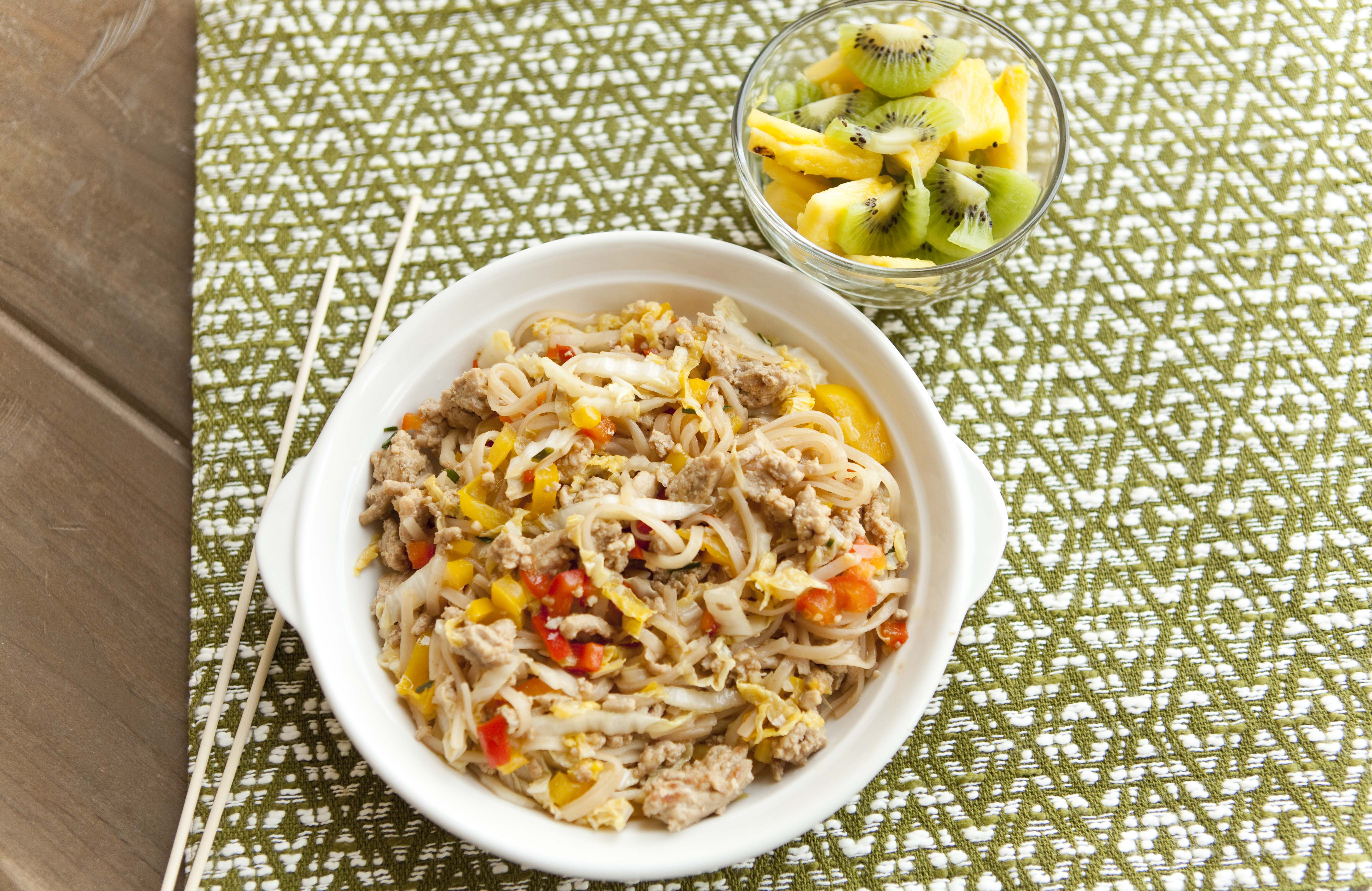 Asian noodles with ground turkey recipe in 2020 with