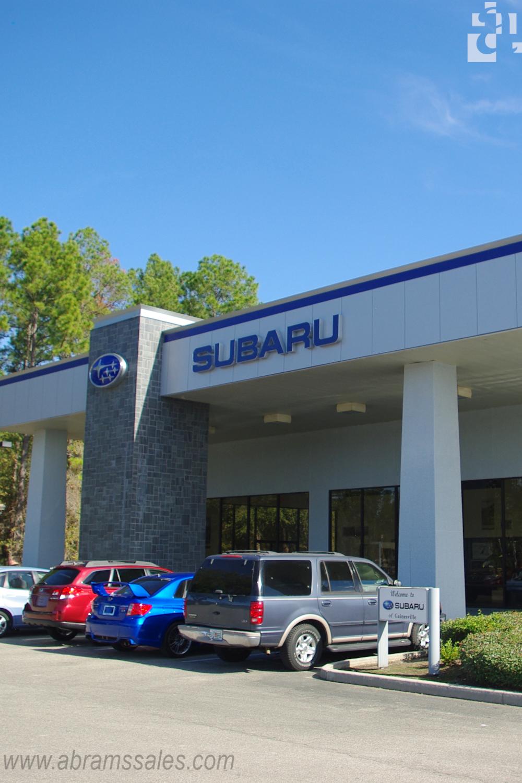 Rainscreen Gainesville Subaru Metal Wall Panel Architecture Building Design