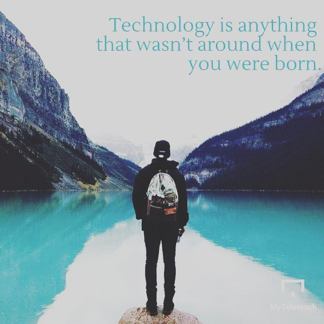 This Alan Kay thought is a great description of #technology  Double tap if you agree!