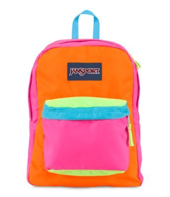 Superbreak® backpack | Bags, Animals and Neon
