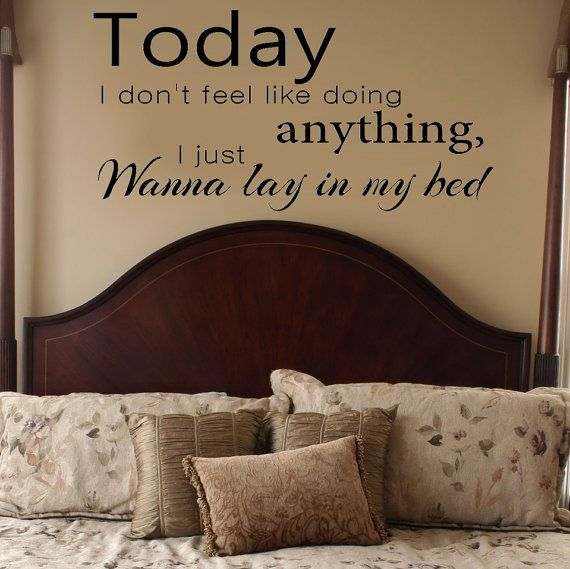 Day 7 A Song That Reminds Me Of This Past Summer Lazy By Bruno Mars Because I Was Chillin Vinyl Wall Decals Bedroom Vinyl Wall Decals Vinyl Wall