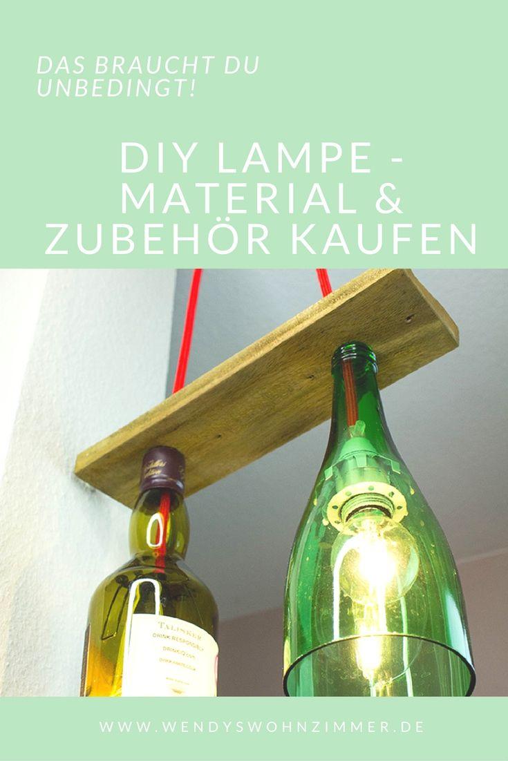 eine lampe selbst bauen lampenfassung kabel und zubeh r wendys wohnzimmer diy lampen. Black Bedroom Furniture Sets. Home Design Ideas