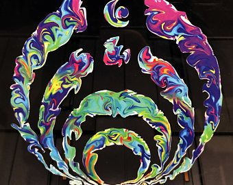 Bass Drop Cut Vinyl Art Decal Bassnectar Waterproof Car