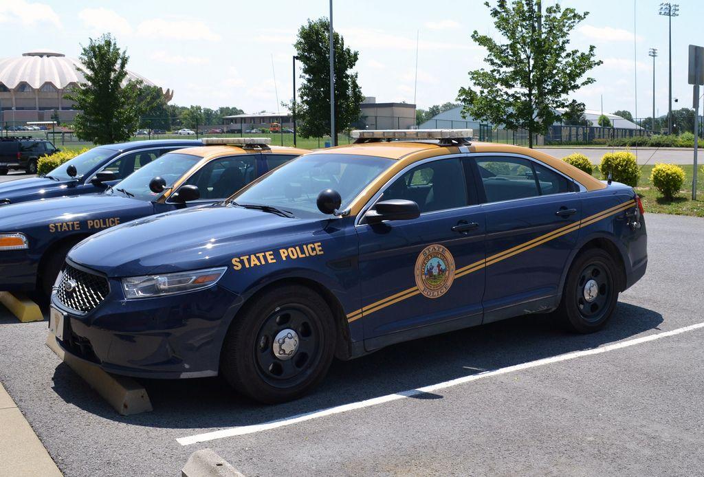 West Virginia State Police Police Cars Police Ford Police
