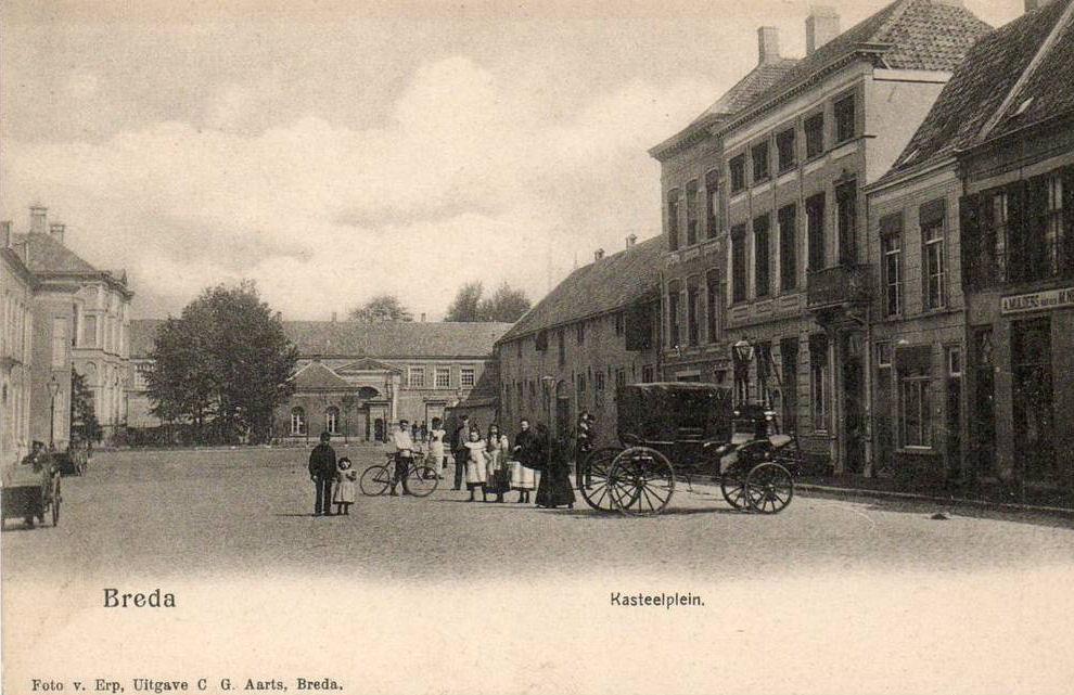 Breda - Kasteelplein - 1904