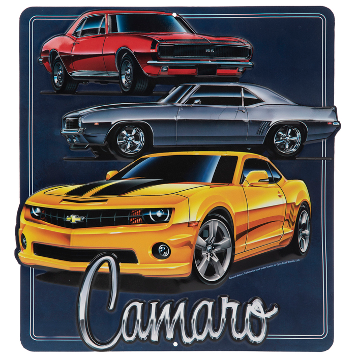 Get Camaro Metal Sign Online Or Find Other Words Wall Art Products From Hobbylobby Com Metal Signs Camaro Word Wall Art