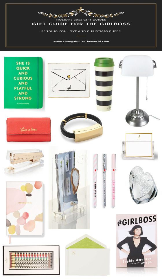 Shoegal Out In The World Holiday 2015 Gift Guides // Gift Guide for the GirlBoss