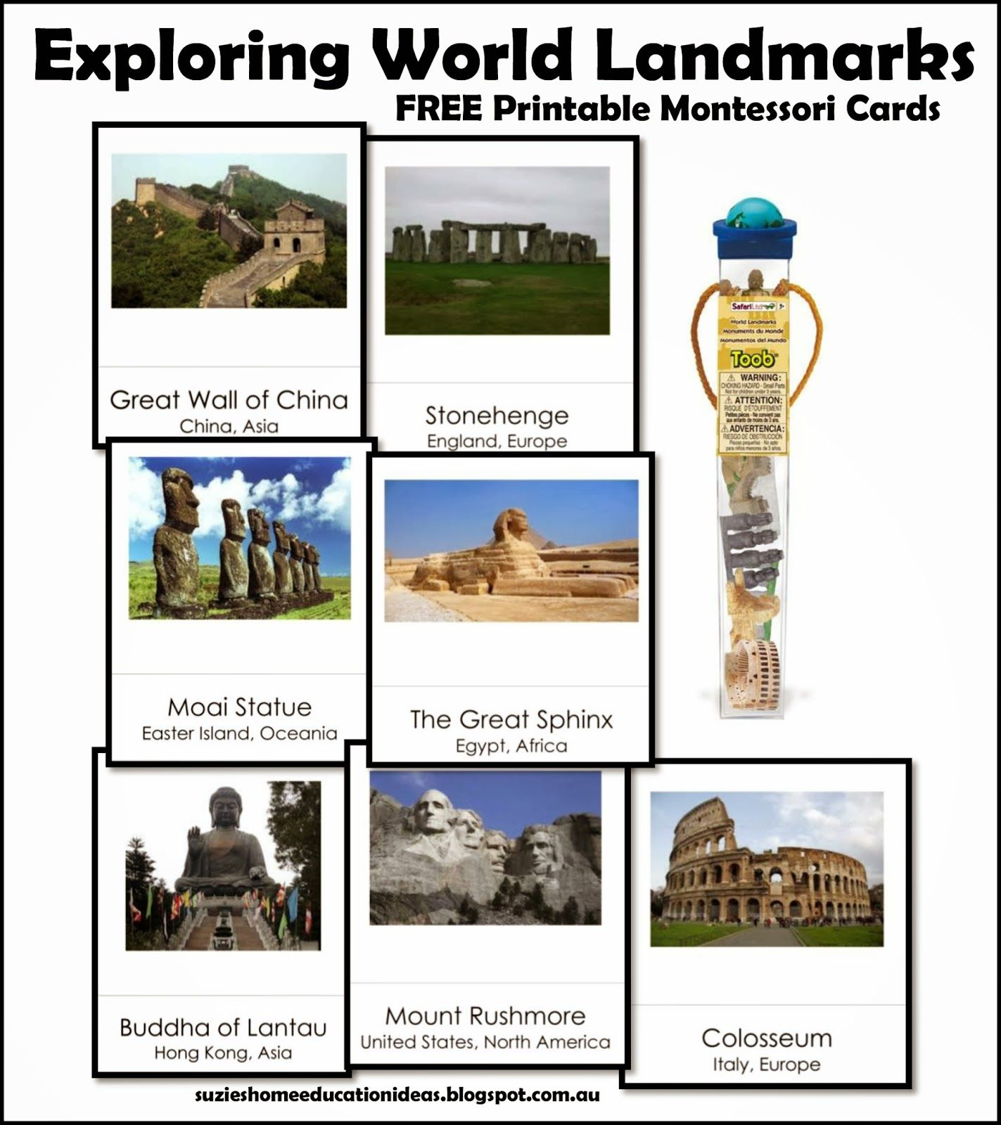 Exploring World Landmarks