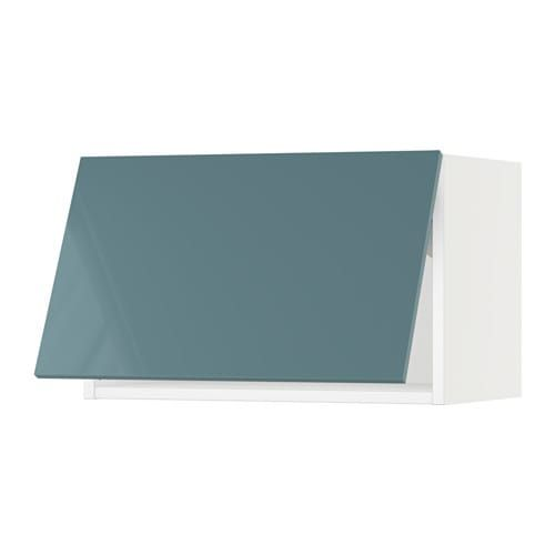 Best Sektion Wall Cabinet Horizontal White Grimslöv Off 400 x 300