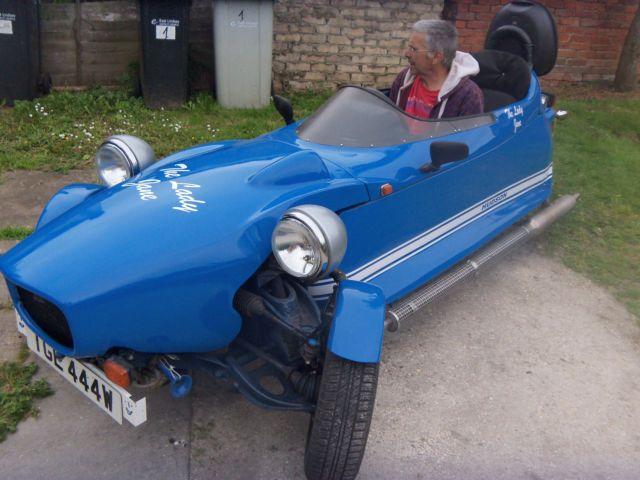 Hudson kindred sprit 3 wheeled kit car for sale alford for Alford motors used cars