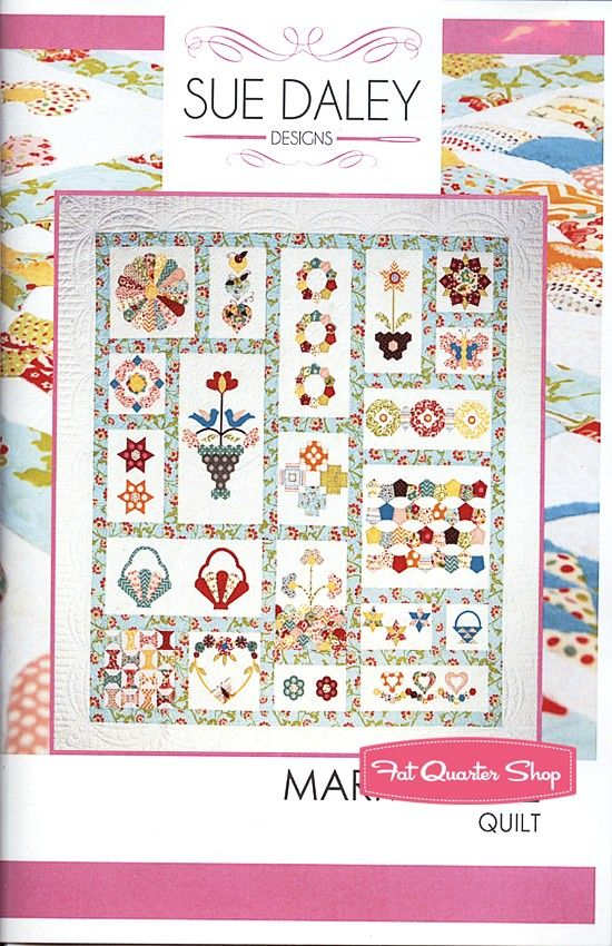 Marmalade Quilt Pattern And English Paper Piecing Set Sue