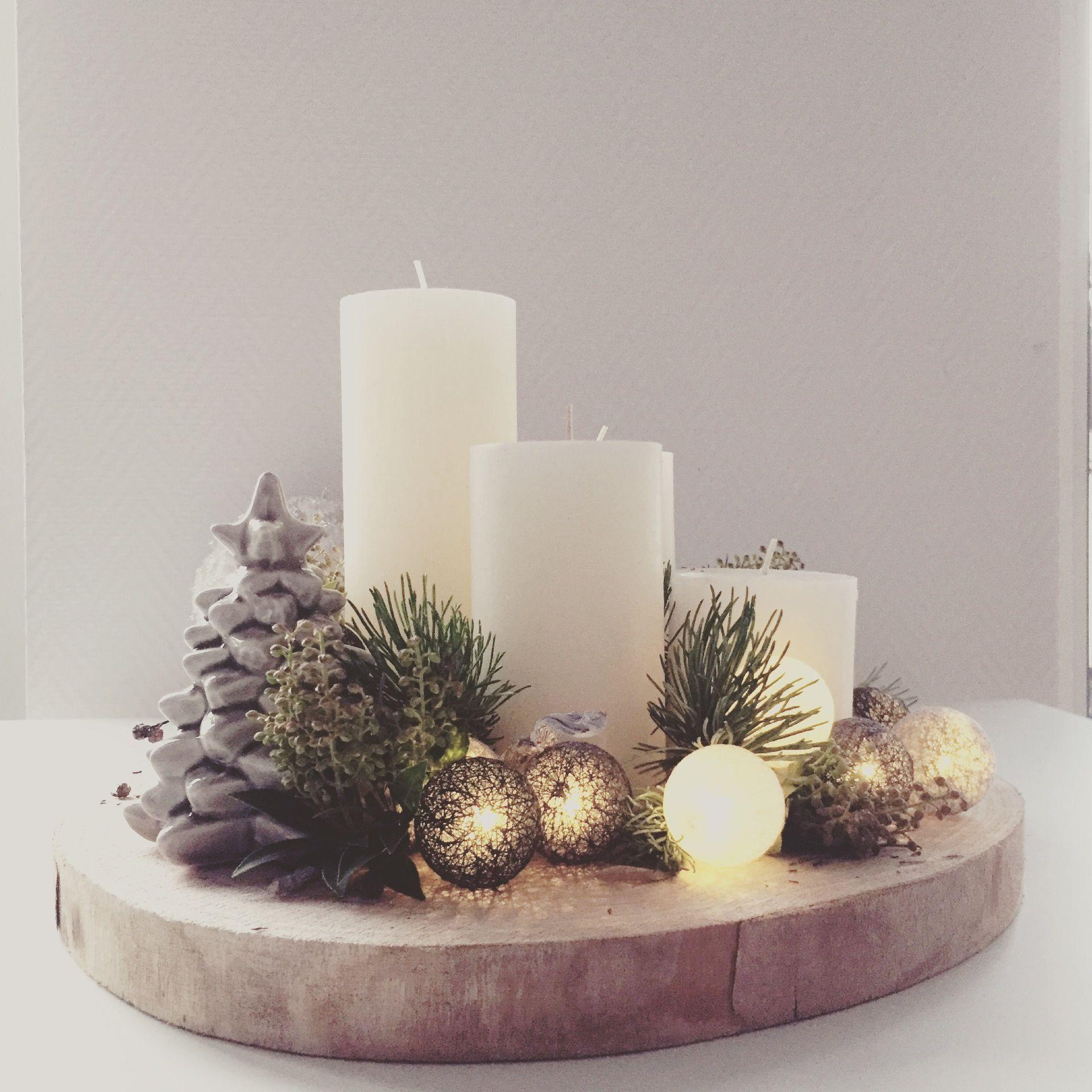 My DIY Christmas Wreath. #baumscheibendekoweihnachten My DIY Christmas Wreath. #kerstideeën