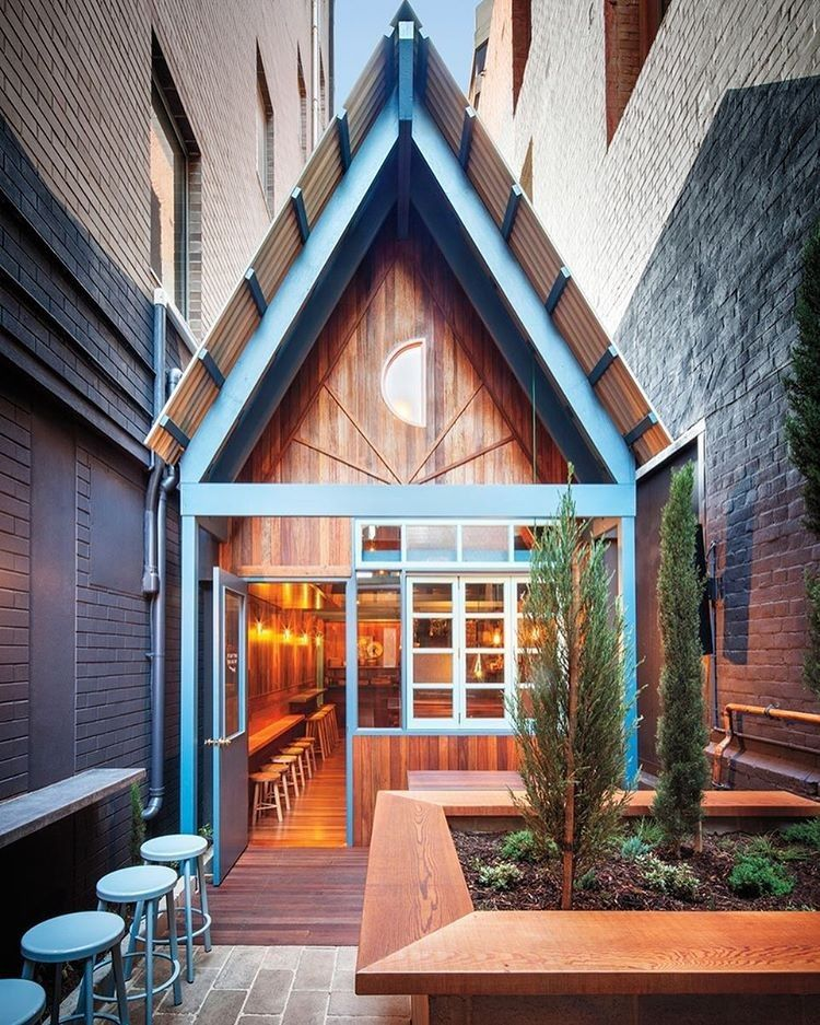 Sansarcstudio Designed A 60 Degree Roof Pitch That Brings A